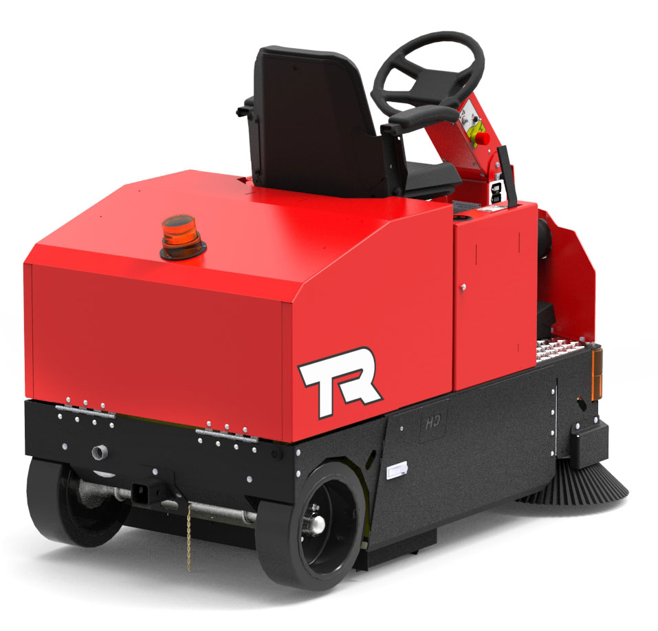 factory cat TR sweeper back right
