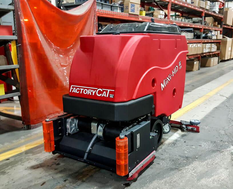 factoryCat Mini HD warehouse