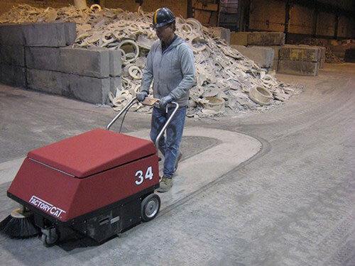 walk behind sweeper 34