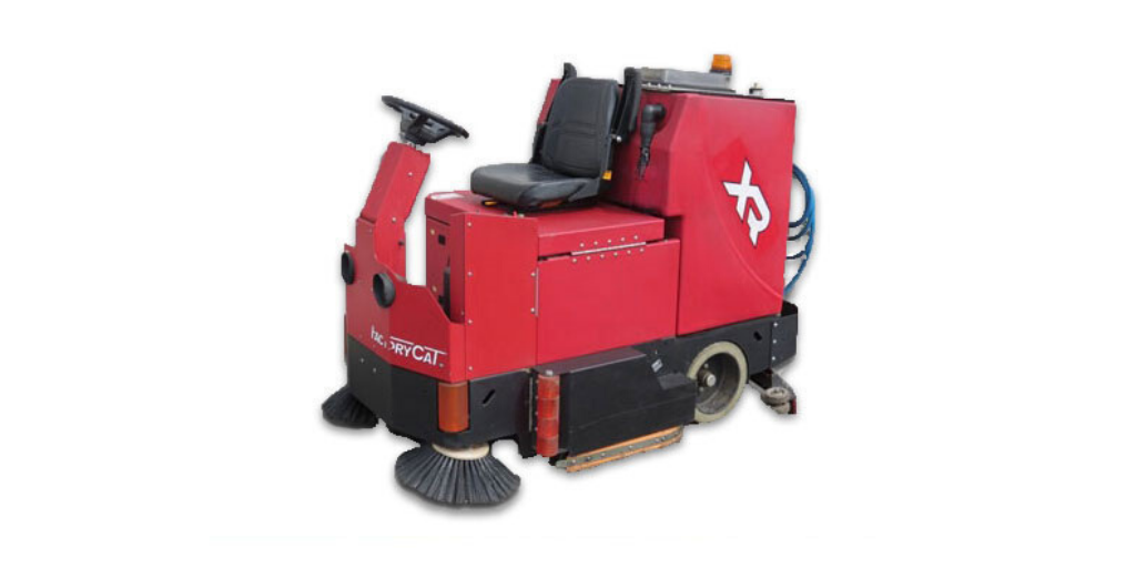 factory cat ride on scrubber dryer industrial floor cleaners
