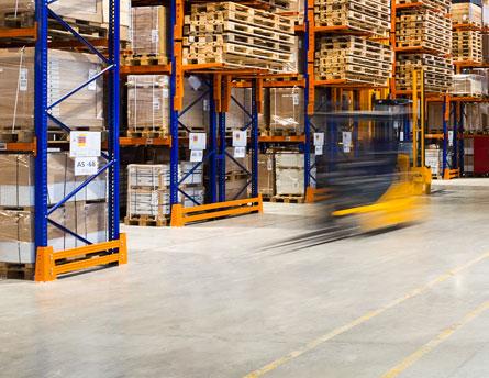 warehouse vehicle