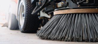 industrial cleaning engineering floor sweeper