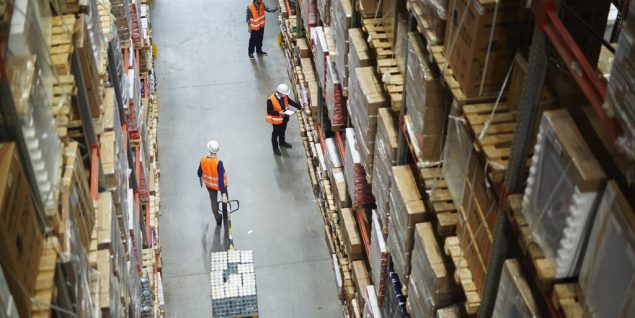 logstics warehouses industrial operations