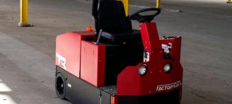 Factory Cat Model TR Ride-On Floor Sweeper